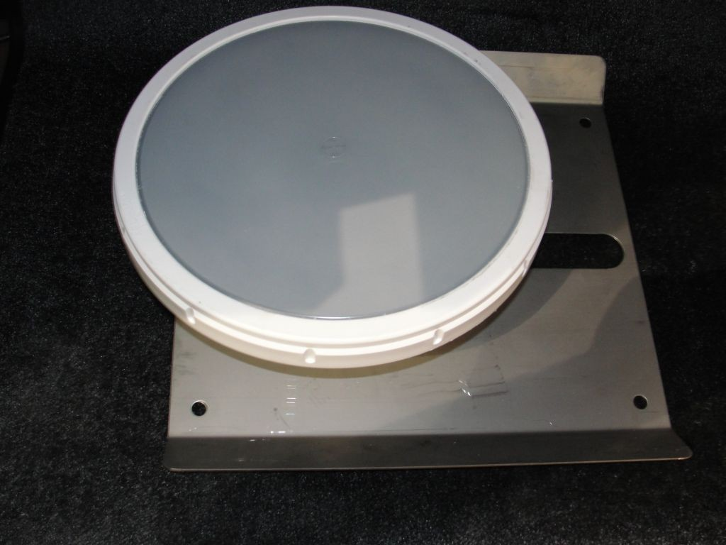 """12"""" Membrane Diffuser with Base Plate"""
