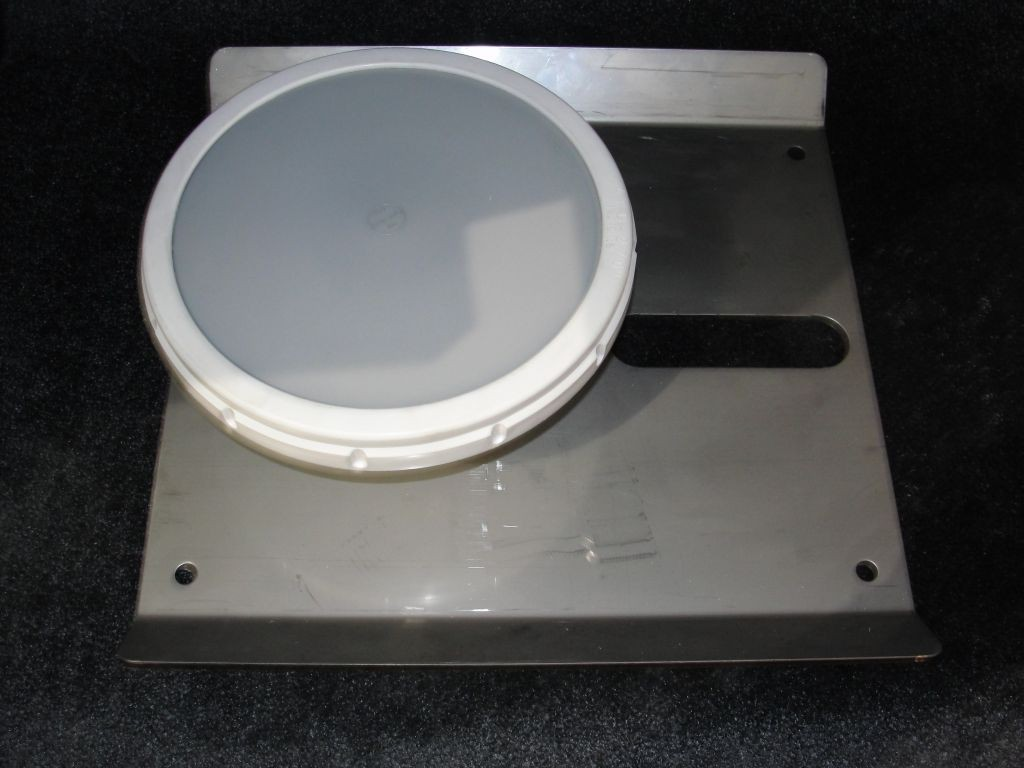 """9"""" Membrane Diffuser with Base Plate"""